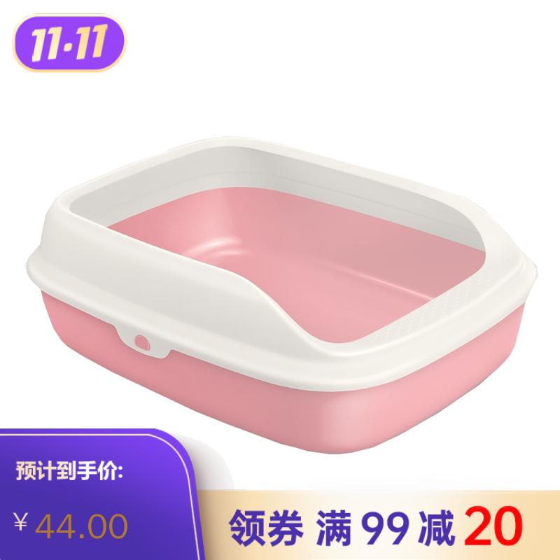 TOMcat敞开式猫砂盆-浪漫樱花(M) M