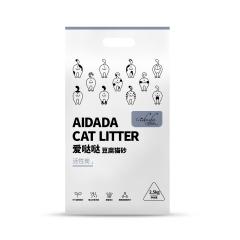 爱哒哒豆腐猫砂(活性炭) 2.5kg