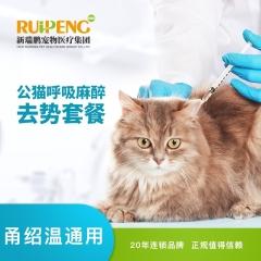 【甬绍温】爱宠吸入式麻醉绝育套餐 公猫 常规版